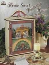 🌸Home Sweet Victorian Home Decorative Tole Painting Instruction Book