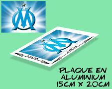 plaque murale ou porte aluminium (15x20cm) OLYMPIQUE DE MARSEILLE - OM- football