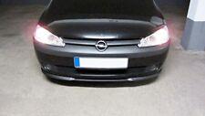 Für Opel Corsa C 3 Cup Front Spoiler Lippe Frontschürze Frontlippe Frontansatz_