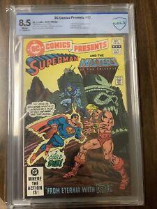 DC COMICS PRESENTS # 47 CBCS 8.5 WHITE 1ST HE MAN AND SKELETOR 1982