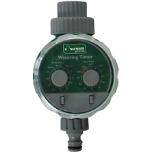 ELECTRONIC WATER TIMER GARDEN PLANT 24 CYCLES PER DAY WATERING IRRIGATION SYSTEM