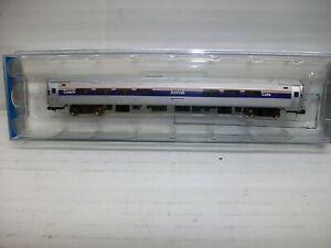 N Scale Bachmann 14162 Amfleet I 85' Phase IV Amtrak Coach Cafe