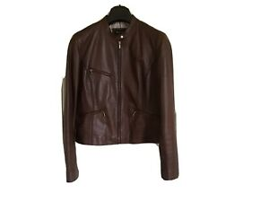 massimo dutti leather jacket Women