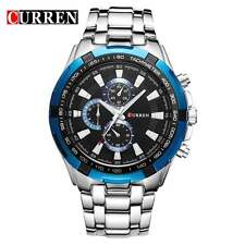 Montre Sport Luxe Curren Neuve Homme Bracelet Métal Fashion Men watch PROMO