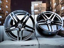 20 Gunmetal S65 Style Wheels Rims Fits Mercedes Benz Cl Class Cl500 Cl550 Cl55