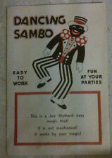 DANCING SAMBO MAGIC TRICK FOR PARTIES Vintage 1940s