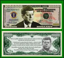 15 Factory Fresh John F. Kennedy Million Dollar Bills