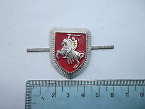 n°17 insigne russe cocarde CHAPKA casquette Biélorussie 1990 bachi képi beret