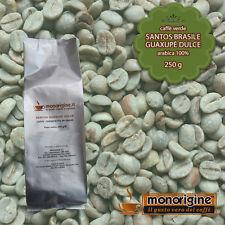 Caffè Verde in Grani Santos Brasile Guaxupè Dulce 250 gr - Caffè Arabica 100%