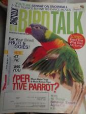 **BIRD TALK MAGAZINE Aug 09 Lory Lorikeet Snowball Dancing Parrot Behavior Facts