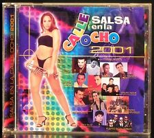Salsa en la Calle 8 2001 by Various Artists (CD, Feb-2001, Protel)