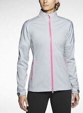 Nwt Womens Nike Golf Gray Storm-Fit Mobius Waterproof Zip Up Rain Jacket Sz Xl