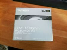 Used Tamron SP 17-50mm f2.8 Di II VC lens in Canon EF-S fit