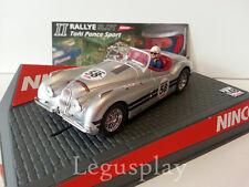 SCX Scalextric Slot Ninco 50465 Jaguar XK 120 Silver - II Rallye Slot Toñi Ponce