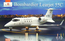 Bombardier Learjet 55 C, 1:72, Amodel ,Air Ambulance, NEUHEIT