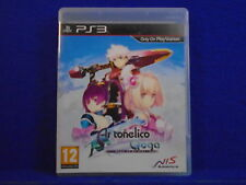 ps3 AR TONELICO QOGA Knell Of Ar Ciel An Epic RPG Playstation PAL UK REGION FREE