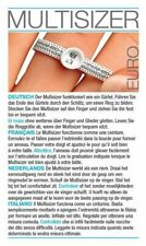 Multisizer Maßband Ringgrössen messen Ringmassband Ringmaß Euronorm1 Deutschland