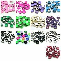 25 Pcs - 9mm Square Pyramid Claw Rivet Studs - Shoes Bags Belts Leather Craft ML