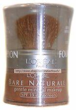 L'OREAL Bare Naturale #472 COCOA Gentle Mineral FOUNDATION Loose Powder SPF 19