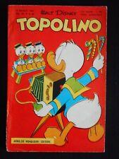 ***TOPOLINO NUMERO 90*** ORIGINALE, MONDADORI 10 MAGGIO 1954 CON BOLLINO !!!