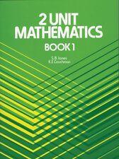 Two Unit Mathematics: Book 1 by K.E. Couchman, S.B. Jones (Paperback, HSC)