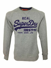Superdry Long Sleeve Cotton Plain Hoodies & Sweats for Men