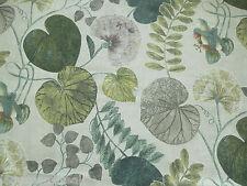 Harlequin Curtain Fabric DARDANELLA 2.75m Linden/Emerald Floral Design 275cm