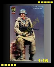 Vintage S&T 1/16 Figure Panzer Grenadier Kharkov Rottenfurhre w/MP40, -STP16018