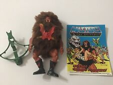 MOTU, Grizzlor, , vintage, complete, He-Man figure, bow With Comic