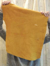 New listing (3) 3-4 oz. Gold Buffalo Bison Leather Hide for Native Western Crafts Bags Laces