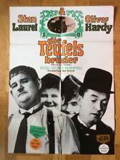 Teufelsbrüder (Kinoplakat ´65) - Stan Laurel / Oliver Hardy / Atlas