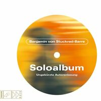 SOLOALBUM - STUCKRAD-BARRE,BENJAMIN VON   CD NEW