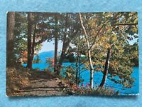 Lake George, New York...In the Adirondacks  Vintage  Postcard