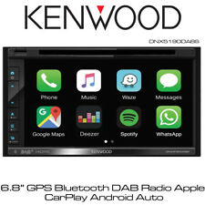 "Kenwood DNX5190DABS - 6.8"" GPS Bluetooth DAB Radio Apple CarPlay Android Auto BN"