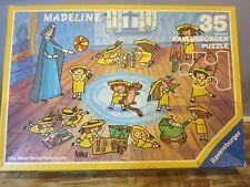 Vintage 1991 Ravensburger 35 piece Madeline puzzle - Complete