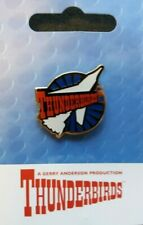 GERRY ANDERSON THUNDERBIRDS THUNDERBIRD 1 SPACECRAFT PIN BADGE BRAND NEW