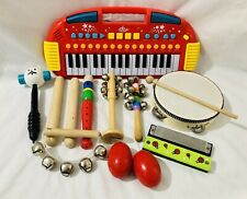Keyboard And Musical Instrument Bundle Kids Baby Toy