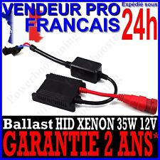 1 BALAST XENON 35W SLIM POUR KIT HID H1 H3 H4 H7 H9 H11 HB3 HB4 DE RECHANGE 12V