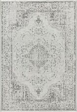 Elle Decor Carpet Area Rug Indoor And Outdoor Grey Off-White 160 x 230 cm
