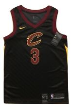 Isaiah Thomas Cleveland Cavs NBA Black Nike Swingman Mens Jersey 40 Small #3 NWT