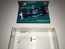 1:43 Minichamps Sauber Petronas C20 Nick Heidfeld Interlagos 2001 - Signed