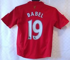 Liverpool 2008-2010 Home Shirt Ryan Babel Adidas Football Jersey