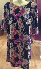 ladies tunic size 10 uk Dress Top Floral Pattern F&F