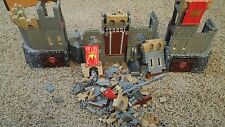 Mega Bloks Lot. Incomplete castle set.