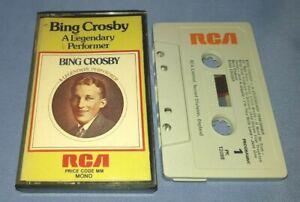 BING CROSBY A LEGENDARY PERFORMER cassette tape album A0175