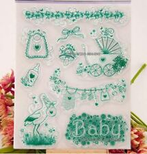 Unbranded Baby Clear Rubber Stamps