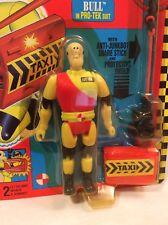 TYCO Crash Dummies BULL In pro-Tek Suit w/ Anti Junk Bot Stick 1992 Figure