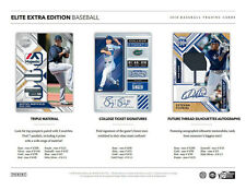 COLORADO ROCKIES 2018 PANINI ELITE EXTRA EDITION BASEBALL 5 BOX BREAK #9