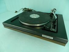 VTG. BSR Quanta 450 SX Turntable No Dustcover, UNTESTED FOR PARTS OR RESTORATION