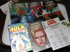 Captain Marvel Marvel Legacy Lot #125 #126 #127 plus 3 #125 variants